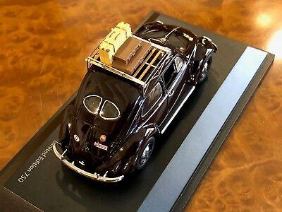 "Schuco 1:43 VW Kafer - Käfer Teilung Fenster "" Sommer 1951 "" #Shu00726 3"