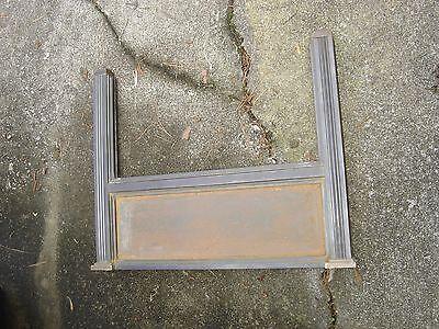 Antique Bronze Teller Window, or Divider or Sign Holder.8381 8