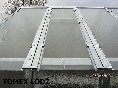 Stahl Gewachshaus 3x5m 15m2 Metall Glas Treibhaus Eur 1 750 00