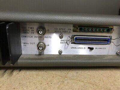 HP 8443 Tracking Generator . Counter Hewlett Packard ID-AWW-AWW-9-3-2 9