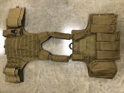 Tactical Vest COYOTE Tan Plate Carrier BODY ARMOR Military Matches Multicam 8