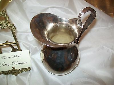 "Antique Wallace Silver Plated EPNS Pitcher 7"" x 5.5"" 7"