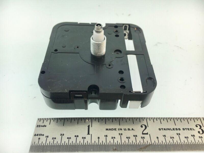 Takane Quartz Battery Clock Movement Short Shaft High Torque Made in USA 3