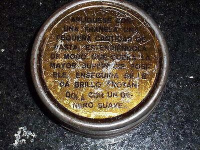 Antique CERA Antiseptic round Tin - Industria Chilena 3