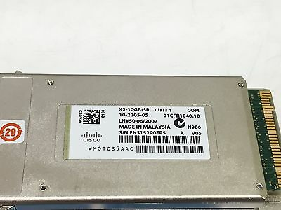 10-2205-05 X2-10GB-SR V05 Original CISCO
