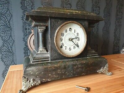 19th Century Anerican Mantle Clock - William Gilbert & Co. 2