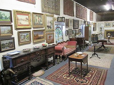 "Pair Of Solid Oak Antique All Beveled Glass W/jewels 54"" Side-Lites Estate # 620 8"