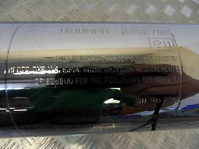 Triumph Bonneville America Speedmaster Standard Exhaust Left Side