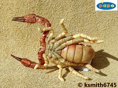 NEW * Papo SCORPION solid plastic toy wild animal insect bug arachnid