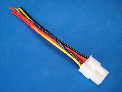 rockford fosgate punch amplifier 6 pin speaker wire harness plug 1 of 6 shipping rockford fosgate punch amplifier 6 pin speaker wire harness plug 45hd 75hd 150hd