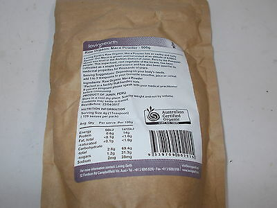 4 x 1kg LOVING EARTH Raw Organic Maca Powder  ( total 4kg ) 2