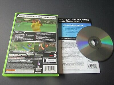 Microsoft Xbox 360: Tiger Woods PGA Tour 07 complete in case & tested 2