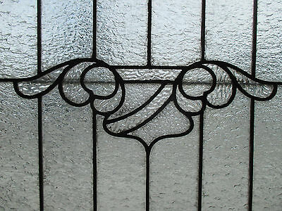 ANTIQUE AMERICAN STAINED GLASS WINDOW 40.25 x 31.25 ~ ARCHITECTURAL SALVAGE ~ 3