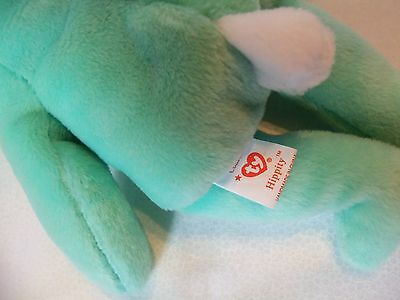 TY Beanie Babies Mint Green Rabbit ** HIPPITY ** 5th Generation New w/ Tag