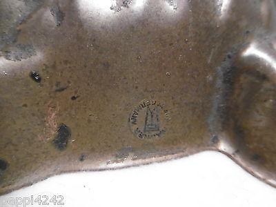 ++ Kupfer Backform  - Fisch  - gestempelt 22,5 x 20 cm  ++ 4