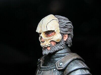HEAD ONLY Mythic Legion Four Horsemen Custom Painted Rocky Knight HEAD ONLY