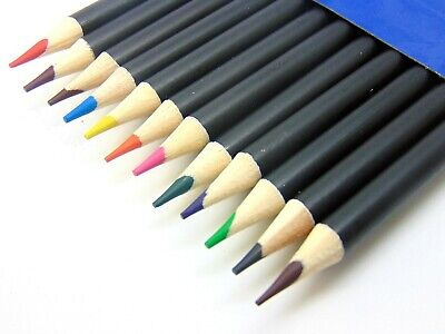 12 Watercolour Artist Pencils For Drawing Painting Sketching Art Water Colour UK 3