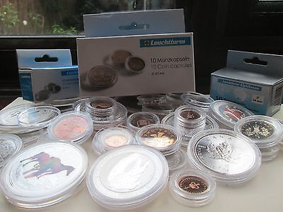 Lighthouse capsuals!10 New Lighthouse coin capsules - Any Size mix 'n match 7
