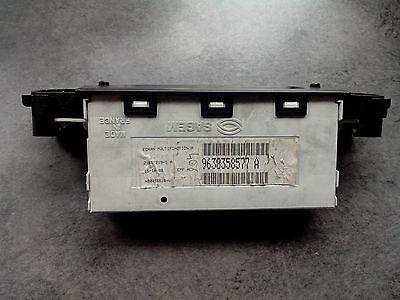 Afficheur ecran 1 ligne multifonction EMF A Sagem Peugeot 406 ref 9631696977  D