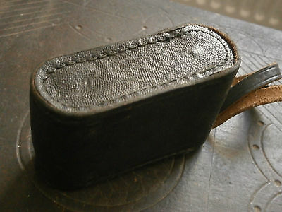 OLD RARE ANTIQUE USSR MONOCLE magnifying glass BINOCULARS WITH LEATHER CASE 3