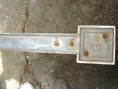 Antique Bronze Teller Window, or Divider or Sign Holder.8381 12