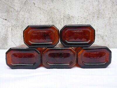 5 x alte braune Medizin Glas Apotheke Apotheker Flasche 250 ml ca. 17,0 cm braun 8