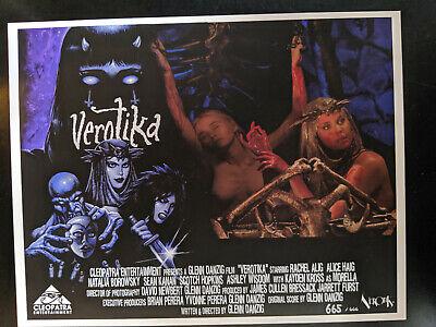 VEROTIKA - Throwback 70's Style LOBBY CARDS LTD Edition 1-666 Danzig Horror 5