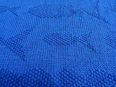 baby blanket knitting pattern DK Big Fish Little Fish 2