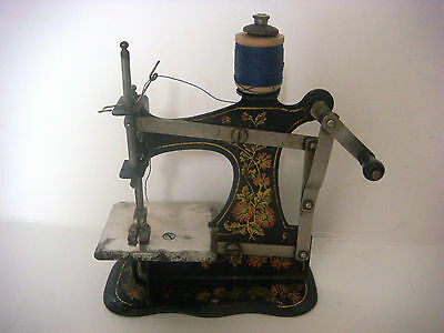 Antique Victorian Miniature Sewing Machine 2