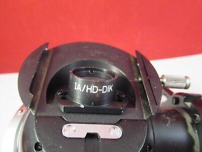 Zeiss Pol 466220 Tourelle Assemblage Microscope Pièce comme sur Photo # 6