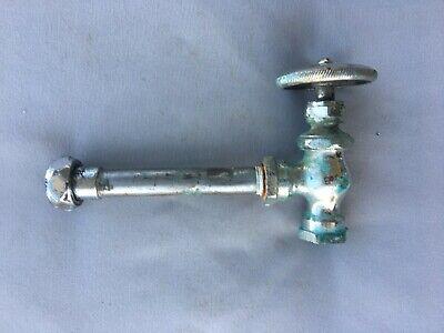 Antique Chrome Brass Sink Toilet Water Supply Shut off Valve Vtg 221-19J 3