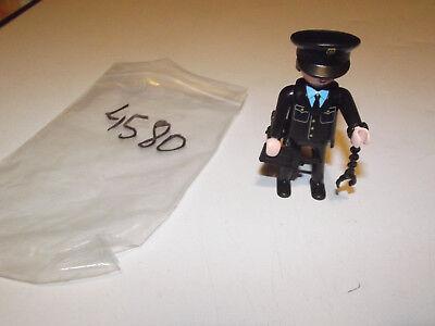 23910 Playmobil Femme Officier de Police Noire avec Col Noir