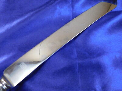 International Valencia Sterling Silver Bread Knife - Very Good Condition S 3