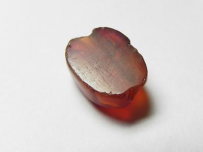 Zurqieh -Cy53- Ancient Egypt , Beautiful Carnelian Scarab. New Kingdom .1400 B.c 6
