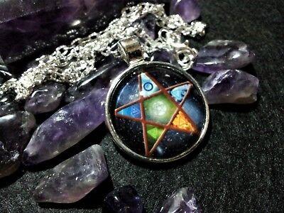 Pentacle Pendant,spiritual,pagan,wiccan,witchcraft,symbolic,unisex,pentagram 3