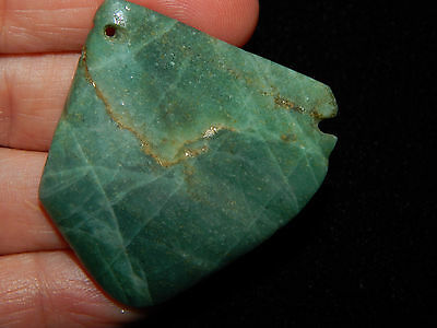 Pre-Columbian Mayan Pectoral Jade Pendant, Authentic 100% 8