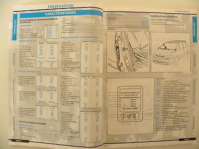 Revue pratique de technique automobile RTA neuve Renault ESPACE après 1997