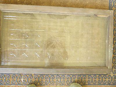 Antique American Cut Star Burst Heavy Glass Window - VERY RARE 6