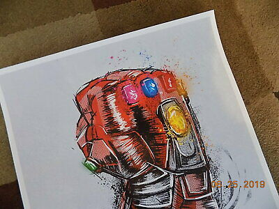"""Avengers: End Game ( 11"""" x 17"""" ) Movie Collector's Re-Release Poster Print 5"""