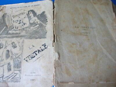 Lotto Libri Antichi E Rari Con Imperfezioni-Lots Of Ancient And Rare Books With 10