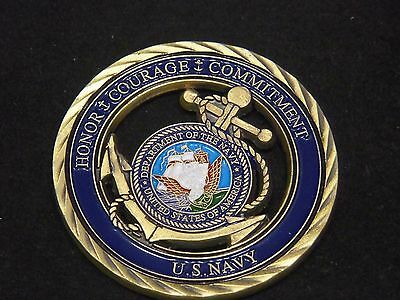 U.S. Navy / Core Values - USN Challenge Coin Naval Collectible Sailor 6