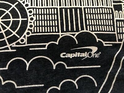 AMAZON Web Services AWS RE:INVENT 2018 Capital One T Shirt Small Used 5