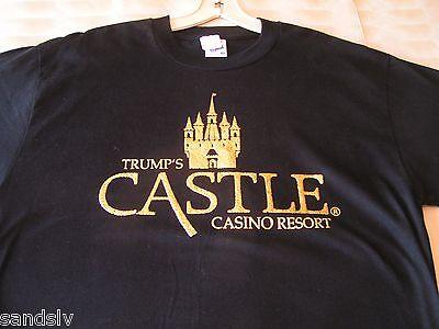 Donald Trump Shirt fr Trump's Castle Casino Resort Atlantic City sz XL New Cond.