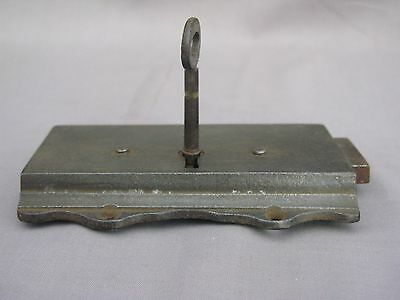 A 19th Century working Rim Lock with key - possibly early 6