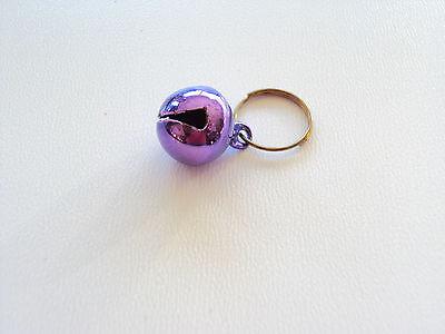 Glöckchen für Kazenhalsbänder in lila oder pink 2