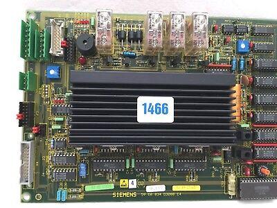 Siemens Sirona D2 Platine 59 60 034 pour Orthophos D3200 A Carreaux