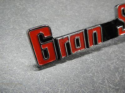 1965 Buick Riviera Gran Sport Fender /& Trunk Emblems /& Glove Box 65 GS Kit Badge