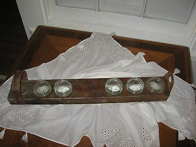 Up Cycled SteamPunk Tray, Reed Manufacturing Co. Pipe Die Holder 2
