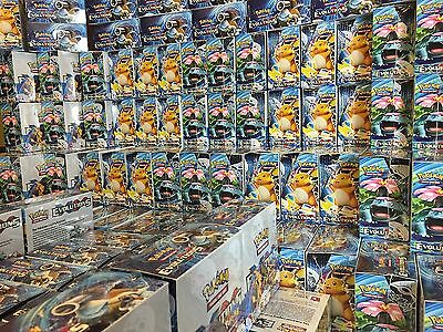 Pokemon TCG 100 Card Lot - COMM/UNCOMM/RARE/HOLO & 1 GX/EX/FULL ART/SECRET RARE 10