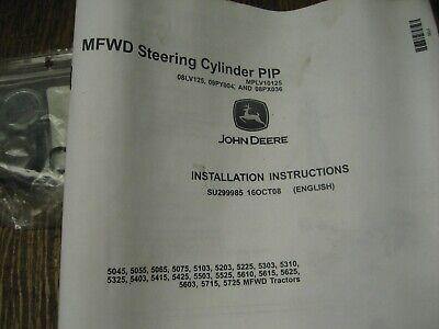 John Deere Steering Cylinder Pip 5000 Series Mfwd Mplv10125 7